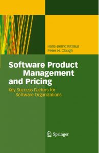The book on Software Product Management and Pricing